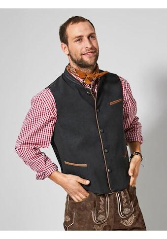 Men Plus by HAPPYsize Trachtenweste kaufen
