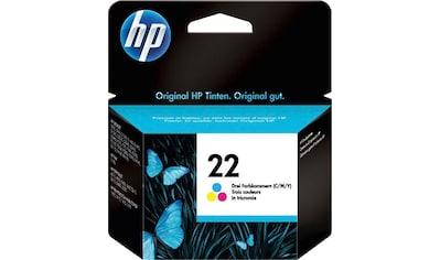 HP Tintenpatrone »hp 22 Original Cyan, Magenta, Gelb«, (1 St.) kaufen