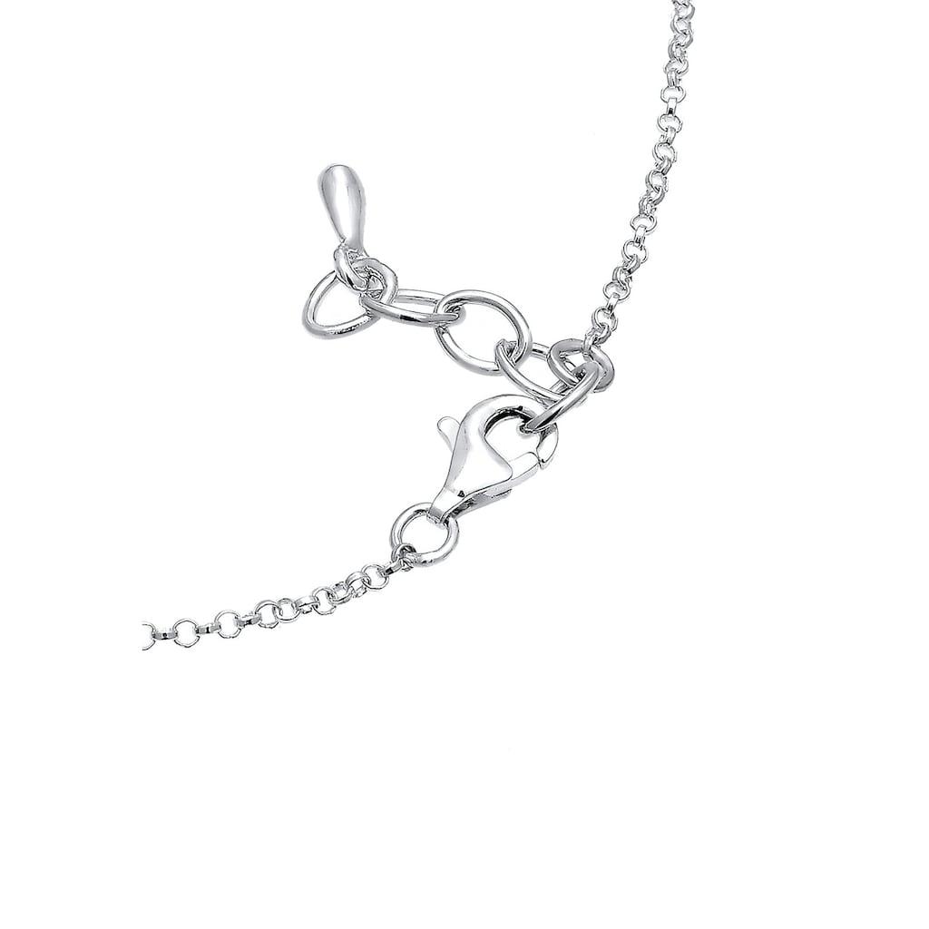 Elli Armband »Funkelnd Kristalle 925 Sterling Silber«