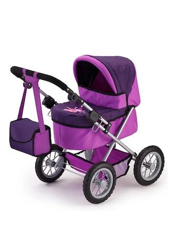 Bayer Puppenwagen »Trendy, Fee, lila«, inkl. Wickeltasche kaufen