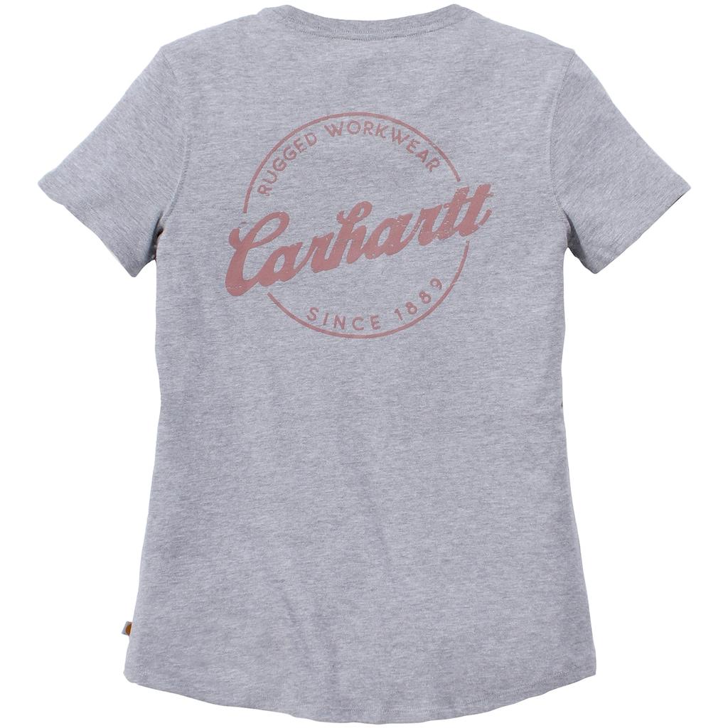 Carhartt T-Shirt »LOCKHART GRAPHIC V-NECK T-SHIRT«