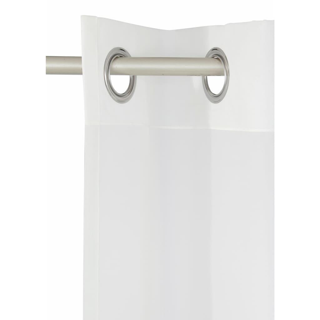 my home Gardine »Sorel«, Vorhang, Fertiggardine, transparent