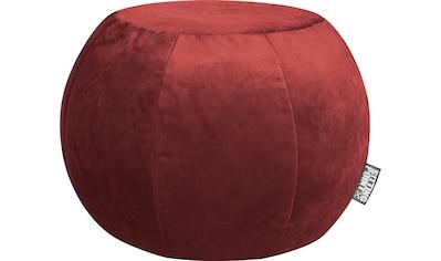 Sitting Point Sitzsack »Sitzhocker Plump VELUTO«, mit Innensack kaufen
