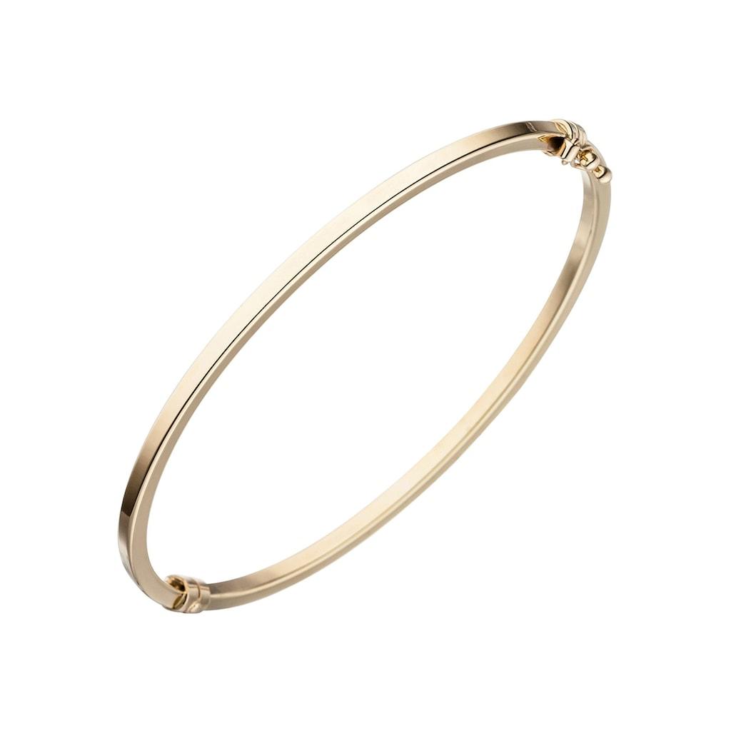 JOBO Armreif, oval 585 Gold