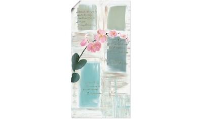 Artland Wandbild »Poesie I«, Blumen, (1 St.), in vielen Größen & Produktarten -... kaufen