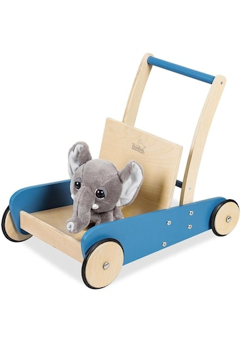 Pinolino® Lauflernwagen »Mats, blau«, aus Holz kaufen
