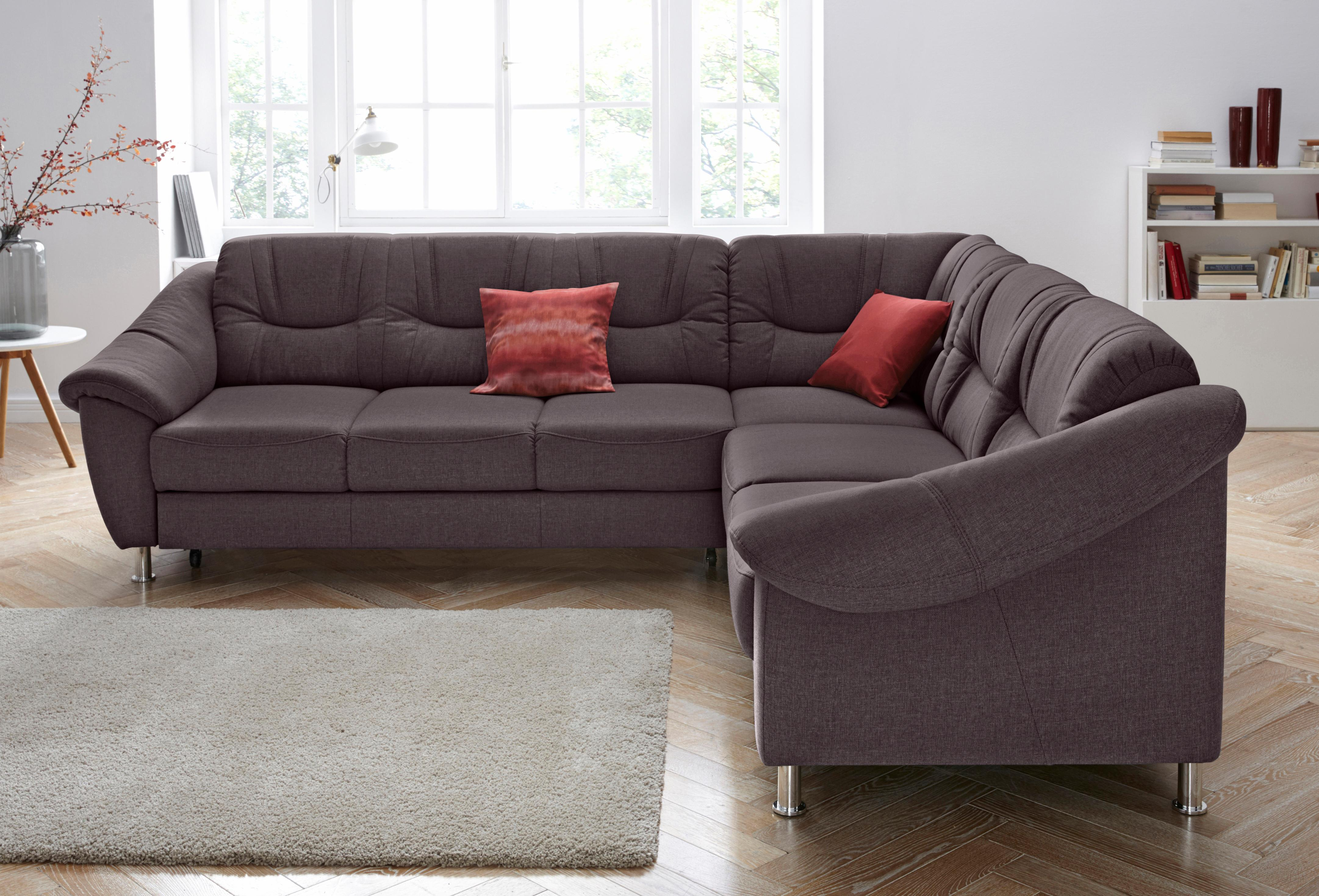 sit more polsterecke mit federkern wahlweise mit bettfunktion moebel suchmaschine. Black Bedroom Furniture Sets. Home Design Ideas