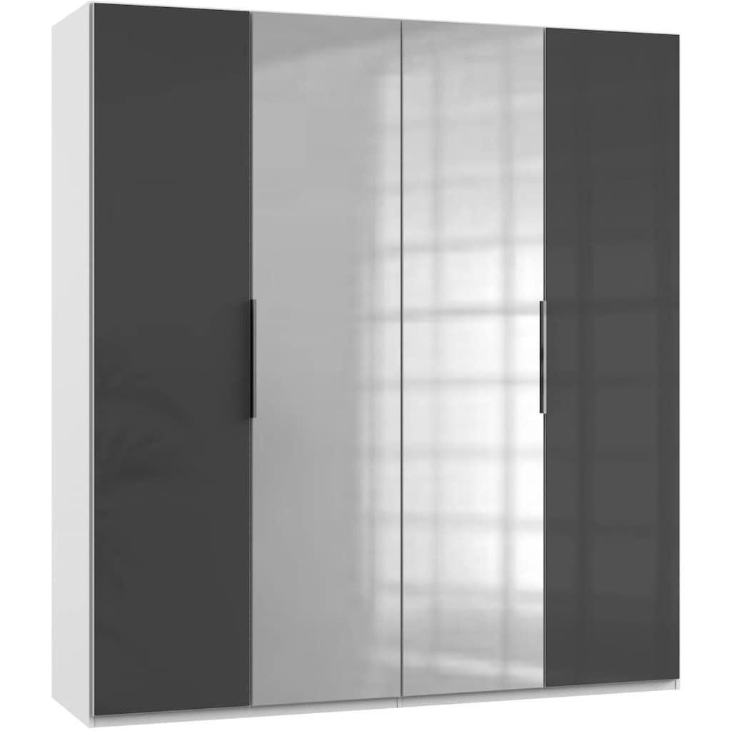 Fresh To Go Kleiderschrank »Level«, mit Glas- und Spiegeltüren