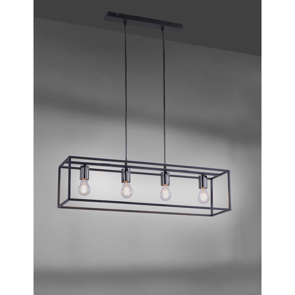 Leuchten Direkt Pendelleuchte »FABIO«, E27, 1 St., Hängeleuchte, Hängelampe
