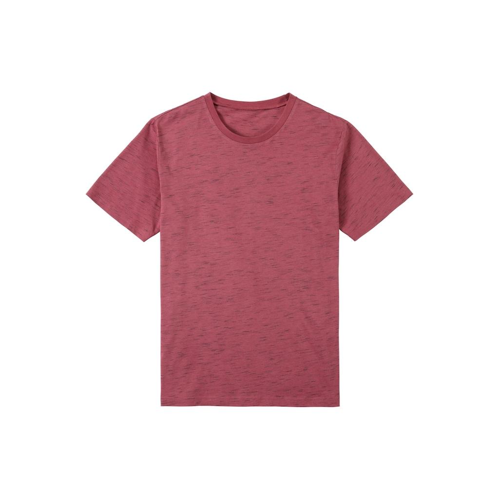 s.Oliver Bodywear T-Shirt, alle Farben in schöner Melange-Optik