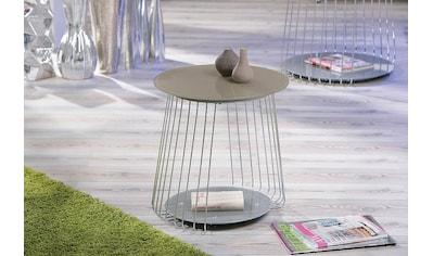 INOSIGN Couchtisch »Rivoli«, mit modernem Drahtgestell kaufen