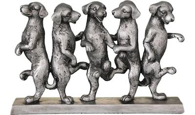 Home affaire Dekofigur »Hunde Tanz« kaufen