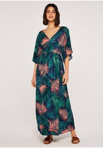 Apricot Maxikleid »Hibiscus Flute Sleeve Bardot Dress«, mit Trompetenarmen kaufen