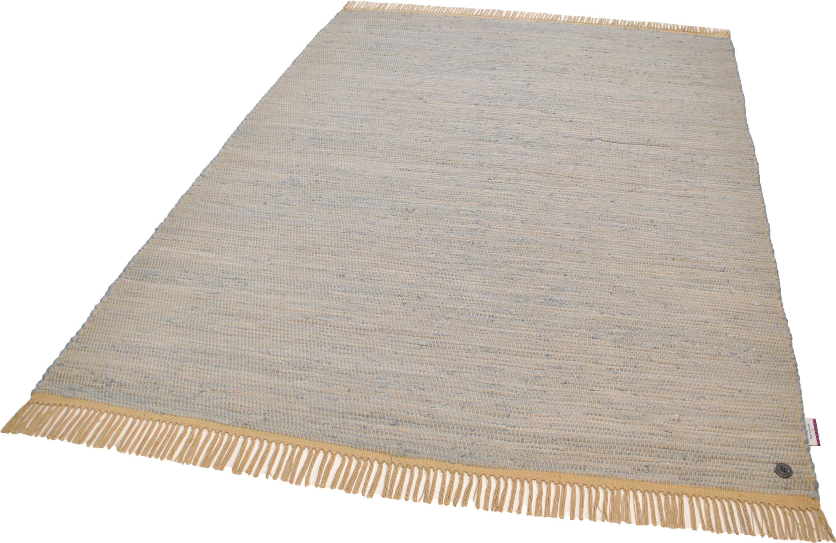 Teppich Cotton Colors TOM TAILOR rechteckig Höhe 8 mm maschinell gewebt
