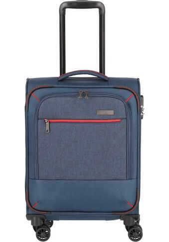 travelite Weichgepäck-Trolley »Arona, 55 cm, marine«, 4 Rollen kaufen