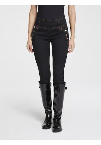 Push - up Jeans Aleria mit Reißverschluss hinten kaufen