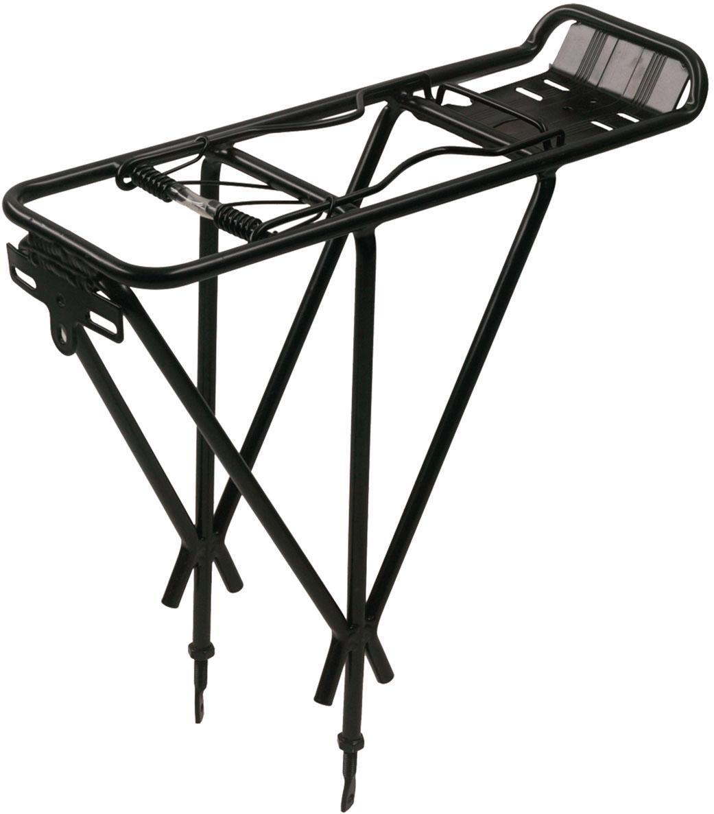 Point Fahrrad-Gepäckträger, 3-fach Strebe schwarz Rad-Ausrüstung Radsport Sportarten Fahrrad-Gepäckträger