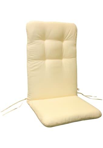 indoba Hochlehnerauflage »Relax«, Beige - IND-70403-AUHL-2 kaufen