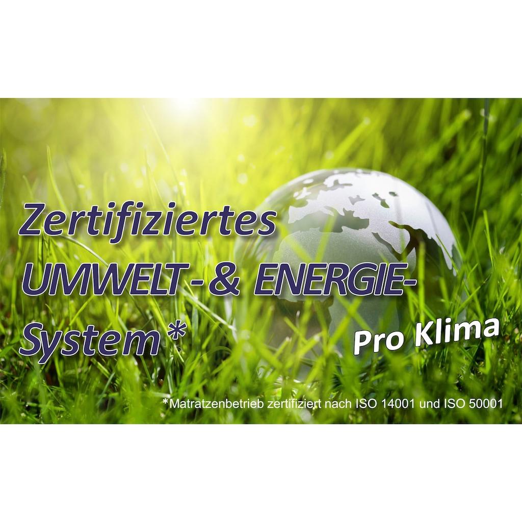 BeSports Steppbett + Kopfkissen »BeSports Climate«, Sehr klimatisierend