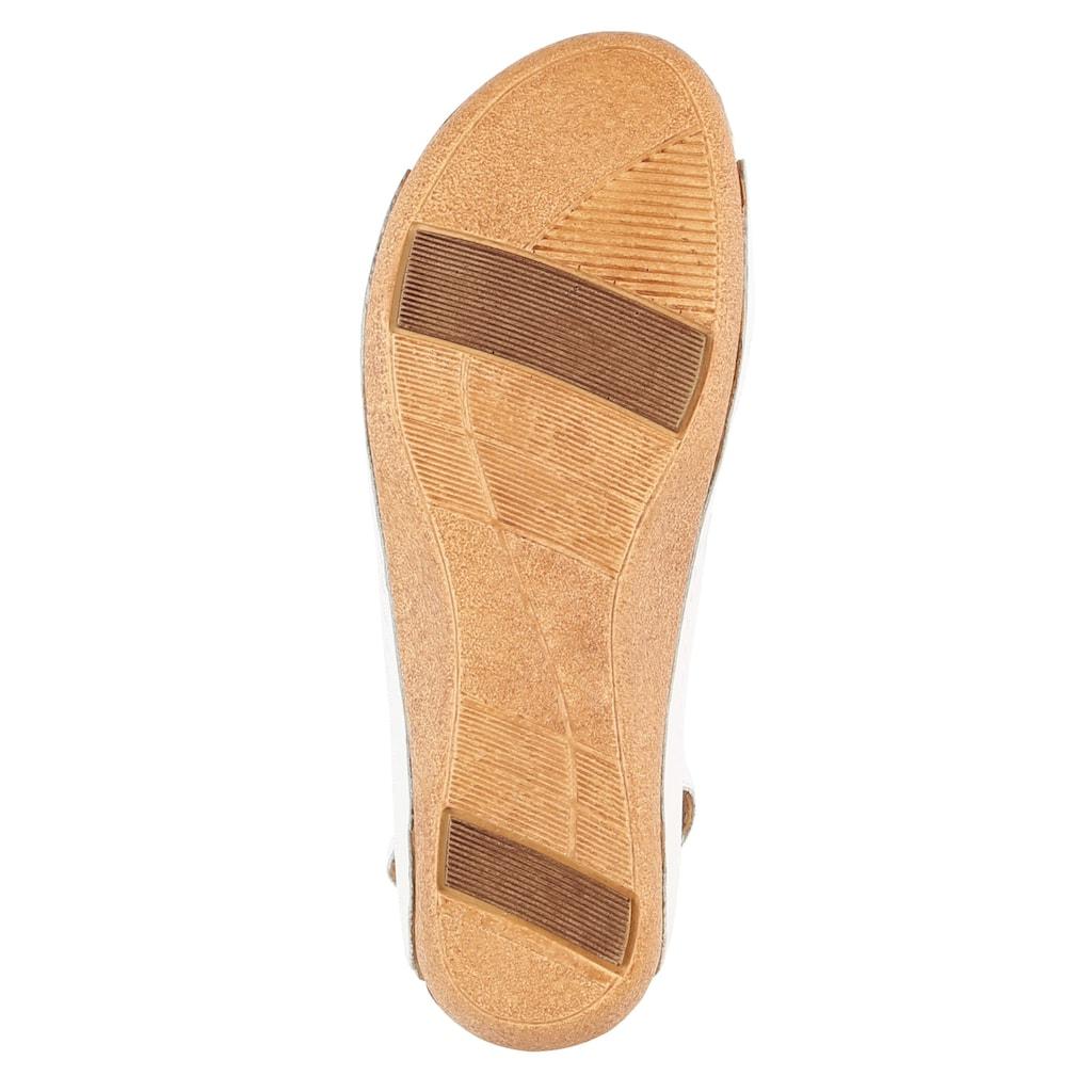 Naturläufer Sandale mit raffinierter Schlaufe