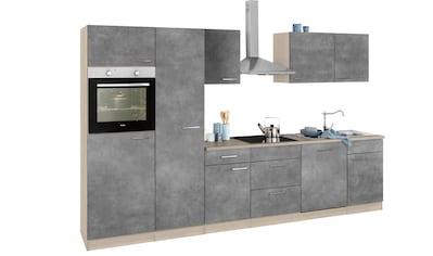 wiho Küchen Küchenzeile »Zell«, mit E-Geräten, Breite 310 cm kaufen