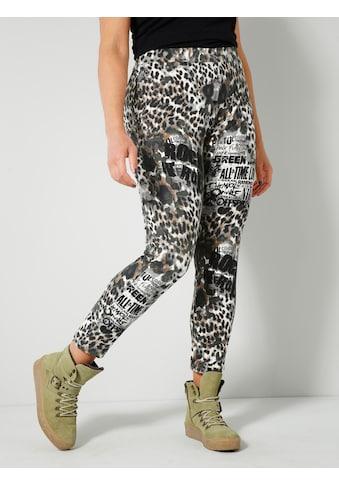 Angel of Style by HAPPYsize Leggings, Animal Print kaufen