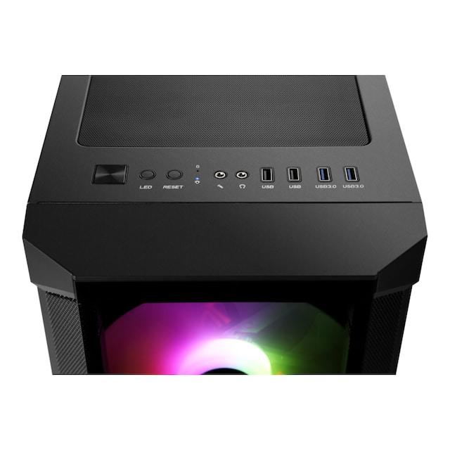 CSL Gaming PC Set   Ryzen 3 3200G   Vega 8   16 GB RAM   SSD   TFT »HydroX T8586 Wasserkühlung«
