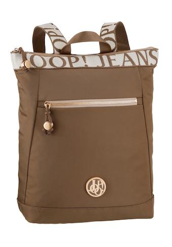 Joop Jeans Cityrucksack »lietissimo elva backpack lvz«, mit modischem Logo Druck kaufen