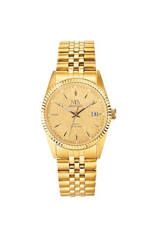Meister Anker Uhr »Edelstahl vergoldet« kaufen