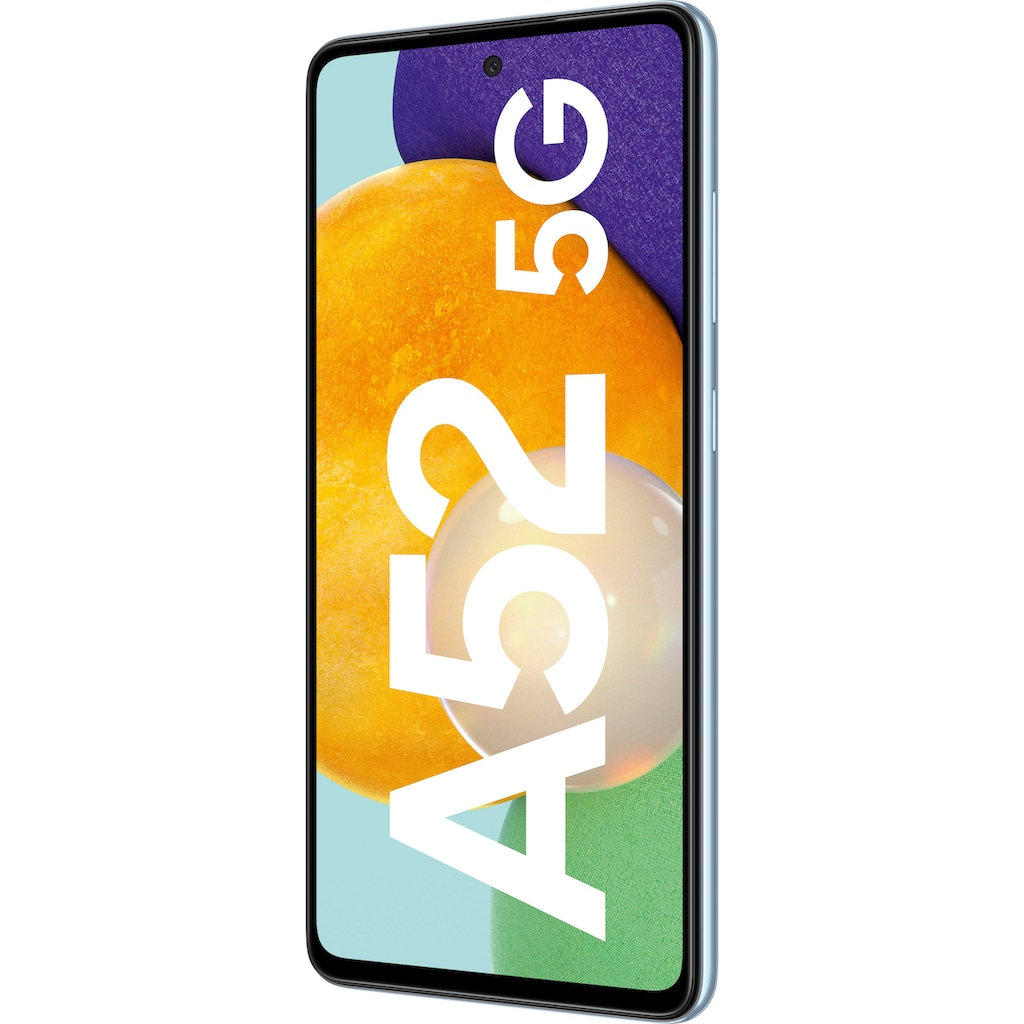 "Samsung Smartphone »Galaxy-A52 5G«, (16,4 cm/6,5 "" 128 GB Speicherplatz, 64 MP Kamera)"