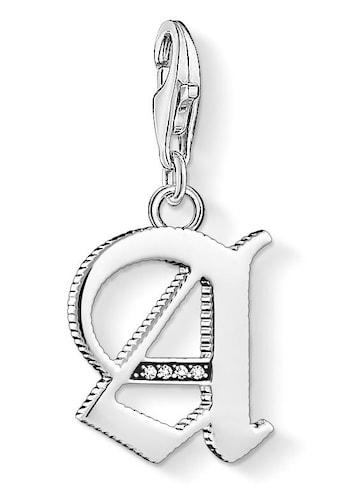 THOMAS SABO Charm-Einhänger »Buchstabe A-Z, 1581-1606-643-21«, mit Zirkonia kaufen