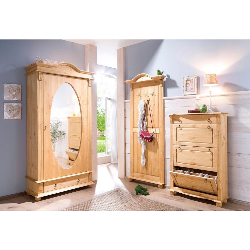 Home affaire Garderobenschrank »Florenz«, mit Spiegel