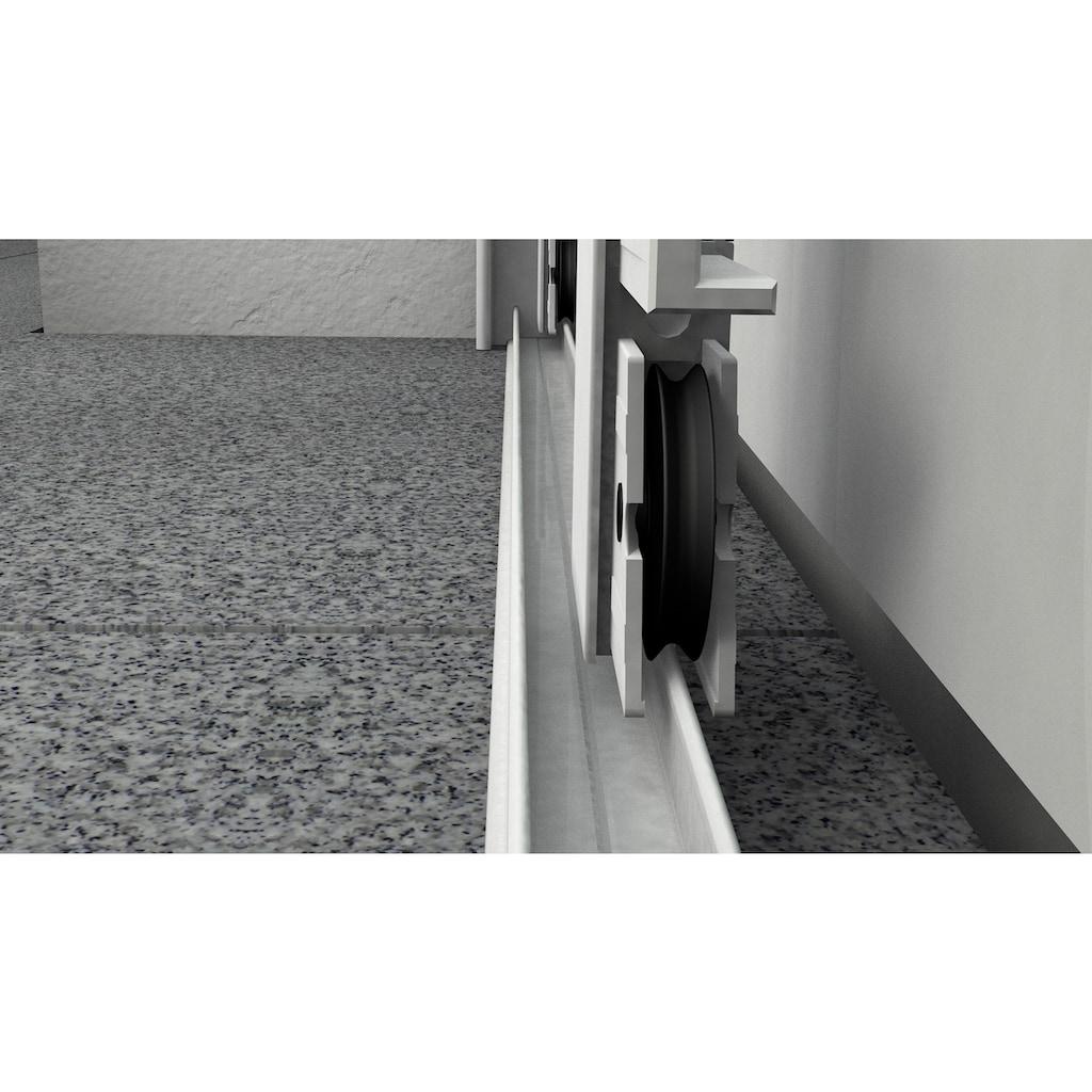 hecht international Insektenschutz-Tür »COMFORT«, weiß/anthrazit, BxH: 240x240 cm