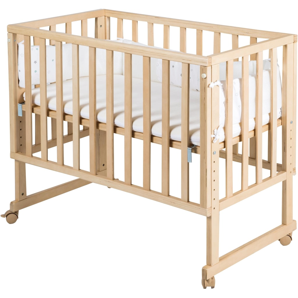 roba® Stubenbett »safe asleep® 3-in-1 Sternenzauber, natur«