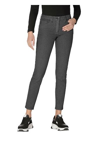 Amy Vermont 5-Pocket-Jeans, mit Hahnentrittmuster kaufen