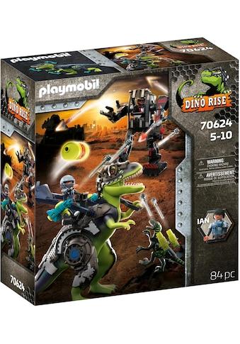 Playmobil® Konstruktions-Spielset »T-Rex - Kampf der Giganten (70624), Dino Rise«,... kaufen