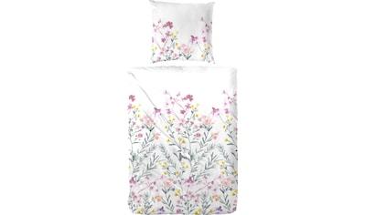 Primera Bettwäsche »Blütenmeer«, mit frischen Blumenranken kaufen
