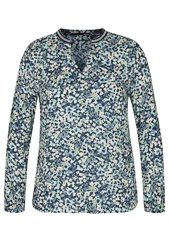 LeComte Shirtbluse, mit geblümtem Allover-Muster und V-Ausschnitt kaufen