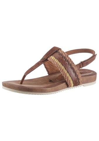 Tamaris Sandale »LOCUST«, mit weichem Zehensteg kaufen