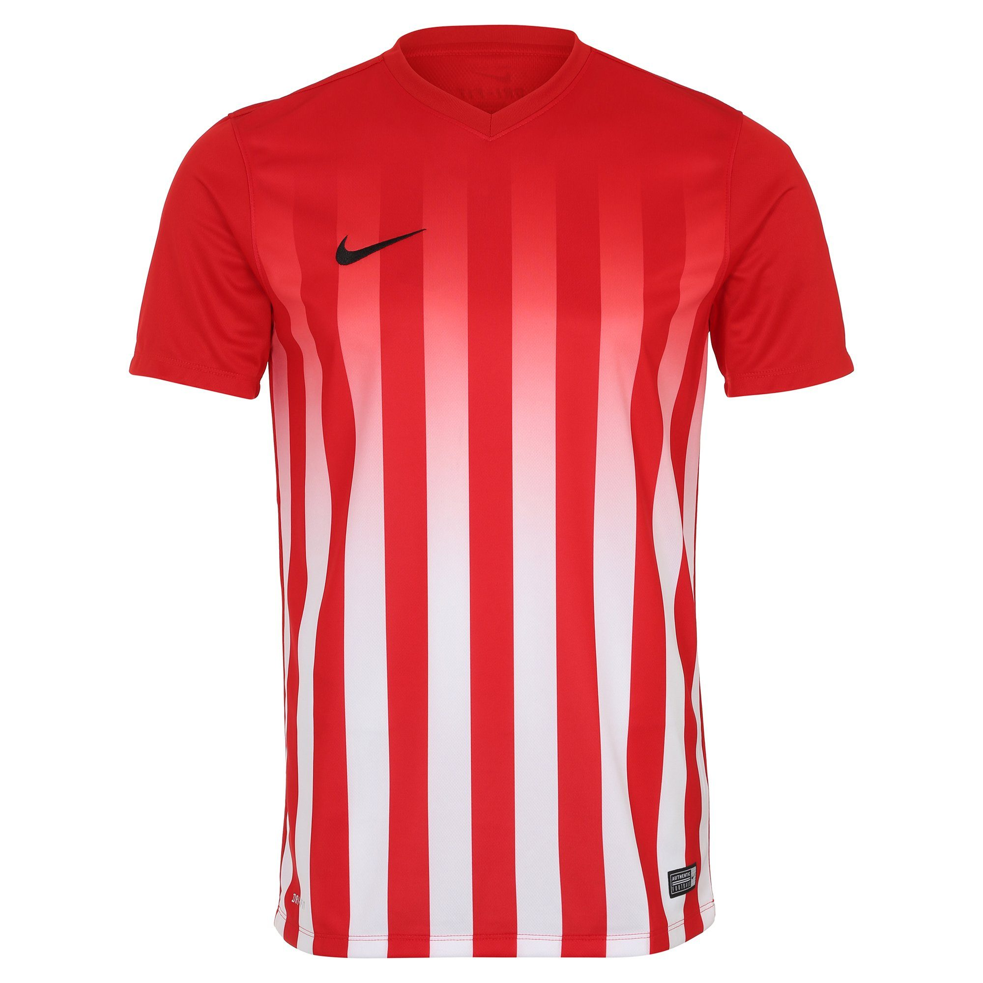 Nike Fußballtrikot Striped Division Ii | Sportbekleidung > Trikots | Rot | Ab - Trikot | Nike