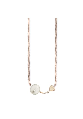 CAÏ Collier »925/ -  Sterling Silber rotvergoldet Perle« kaufen