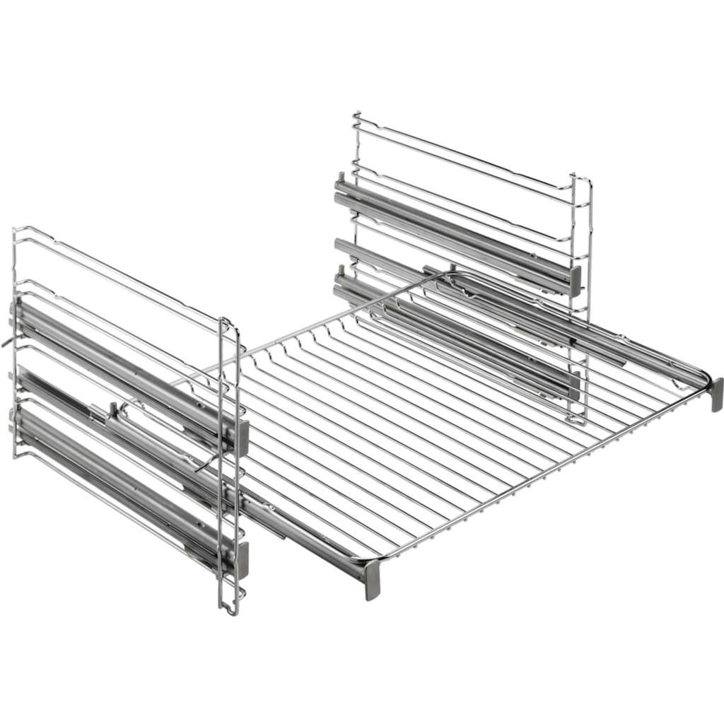 AEG Elektro-Herd-Set »TEAMHH3PID«, EPE555220M, mit Vollauszug, Pyrolyse-Selbstreinigung, SteamBake - Feuchtigkeitszugabe