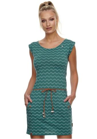 """Ragwear Jerseykleid »TAG CHEVRON«, (2 tlg., mit abnehmbarem Gürtel), mit """"Zig Zag""""... kaufen"""