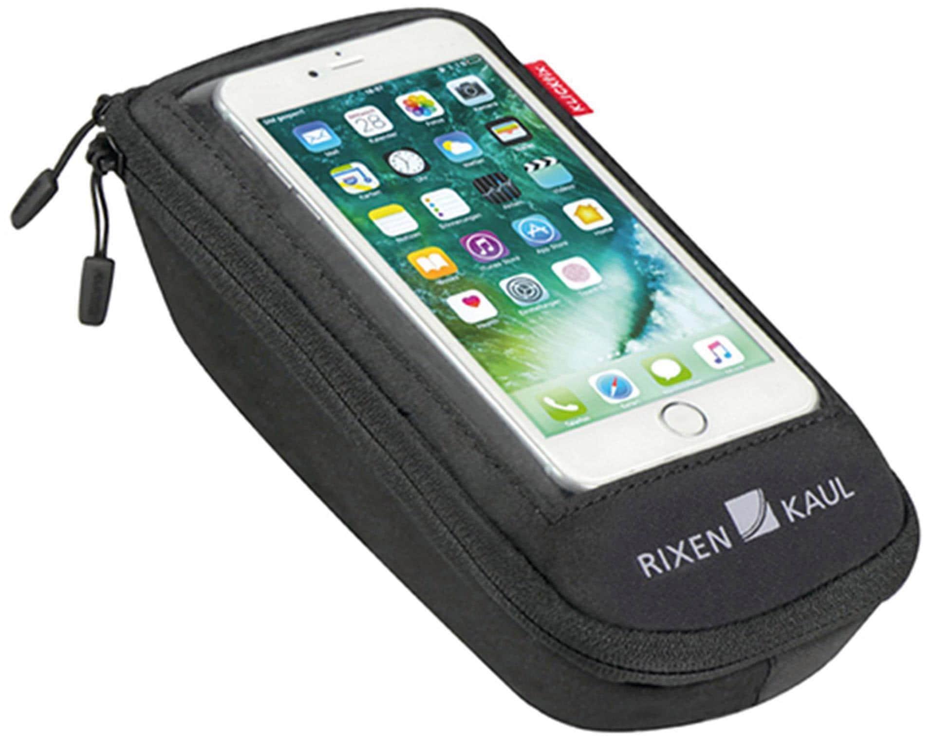 """KlickFix Lenkertasche Lenkertasche für Smartphones RIXEN & KAUL """"Phone Bag Plus M"""" Technik & Freizeit/Sport & Freizeit/Fahrräder & Zubehör/Fahrradzubehör/Fahrradtaschen/Lenkertaschen"""