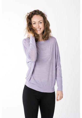 SUPER.NATURAL Fledermausshirt »W KULA TOP« kaufen