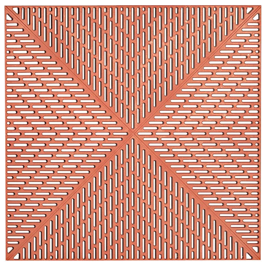 Bergo Flooring Terrassenplatten »Unique Terra«, Kunststofffliesen, einfach ineinanderstecken, 5 m²