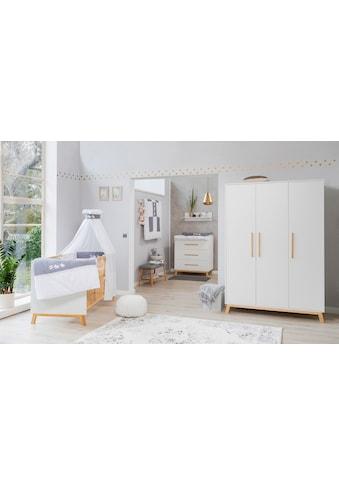 Schardt Babyzimmer-Komplettset »Sienna White«, (Set, 3 St.), Made in Germany; mit... kaufen