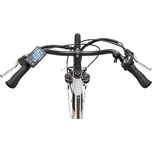 Telefunken E-Bike »Multitalent RC860«, 7 Gang Shimano Acera Schaltwerk, Mittelmotor 250 W