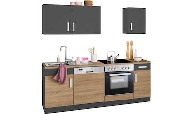 HELD MÖBEL Küchenzeile »Gera«, ohne E-Geräte, Breite 210 cm kaufen