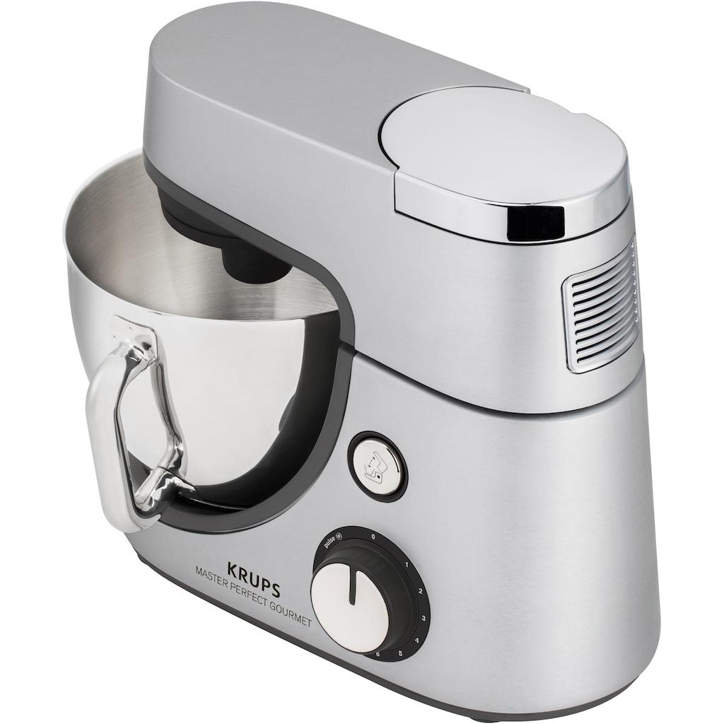 Krups Küchenmaschine »KA631D Master Perfect Gourmet«, mit umfangreichen Zubehörpaket, 8 Geschwindigkeiten+Pulse